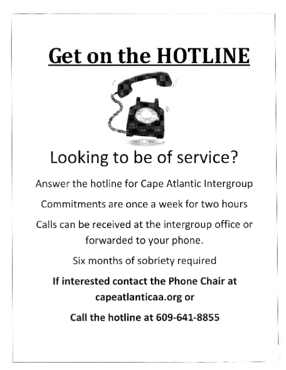 Hotline Flyer