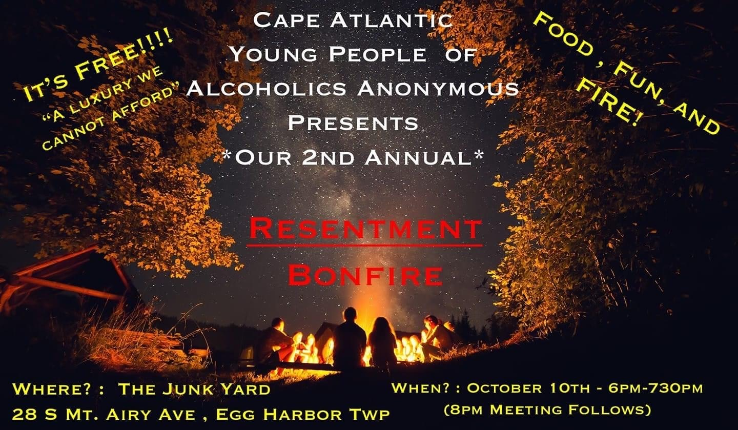 2020.10.10 – CAYPAA 2nd Annual Resentment Bonfire!